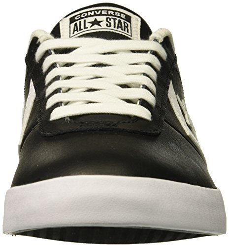 Mixte Noir Converse black Lifestyle Point black Chaussures Adulte Fitness 001 white De Star Ox Leather 88vqrw7