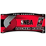 Portland Trail Blazers Official NBA 8' x 18' Locker Room Wall Sign 8x18.75 by Wincraft 963949