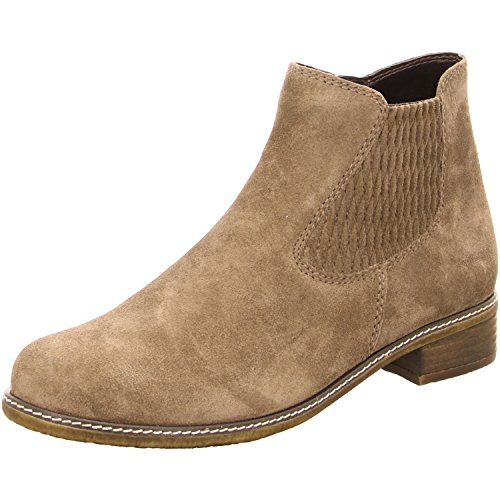 Gabor Shoes Comfort Sport, Botas Chelsea para Mujer Braungrau - Taupe Suede