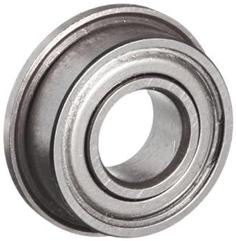 10 Flanged Shielded 5 x 11 x 4 mm Ball Bearings
