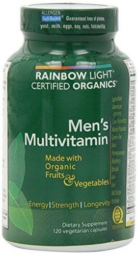 Rainbow Light, Men's Organic Multivitamin, 120 count (pack of 2)