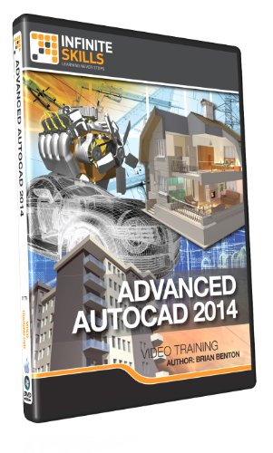 Learning Advanced AutoCAD 2014 - Training DVD