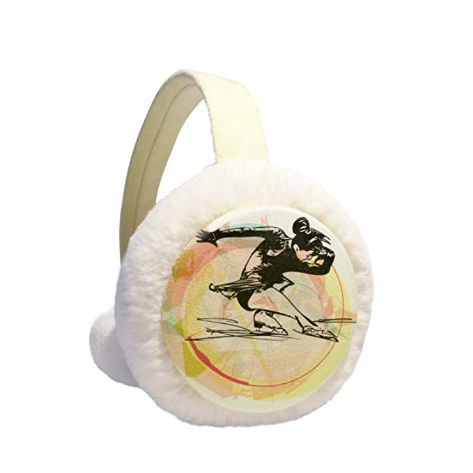 Amazon ウインタースポーツフィギュアスケートの水彩画のイラスト 冬の