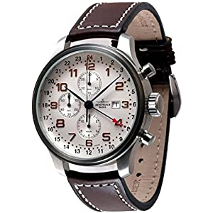 Zeno-Watch Mens Watch - OS Retro Chronograph GMT - 8753TVDGMT-f2