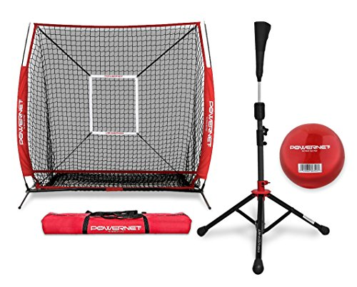 PowerNet Practice Net 5 x 5 + Portable T - Portable Tee Shopping Results