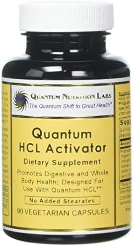 Quantum Nutrition Labs, Quantum-Rx, HCL Activator, Botanical Supplement, 90 Veggie Caps