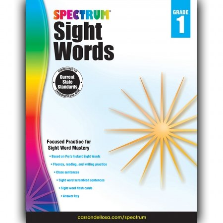 Sight Words Spectrum 1