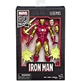"""Marvel Comics 80th Anniversary Legends Series 6""""-Scale Vintage Comic-Inspired Iron Man"""