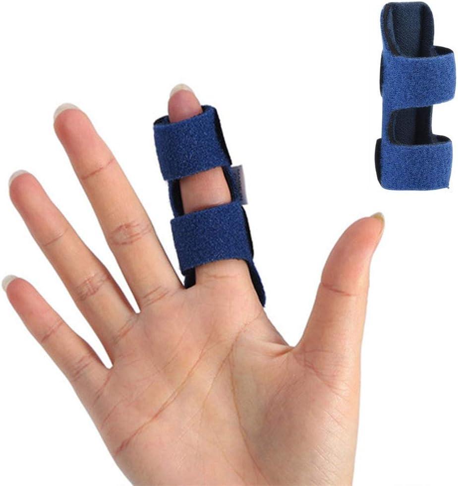 Férula para Dedos,Correa de Fijación Ajustable con Soporte De Aluminio Incorporado Para Liberar el Tendón del Dedo y Aliviar el Dolor
