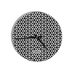 TooLoud Tetra Circle Tesseract 8 Round Wall Clock All Over Print
