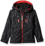 ZeroXposur Little Juvi Boys Cadet Softshell Jacket, Black, Medium