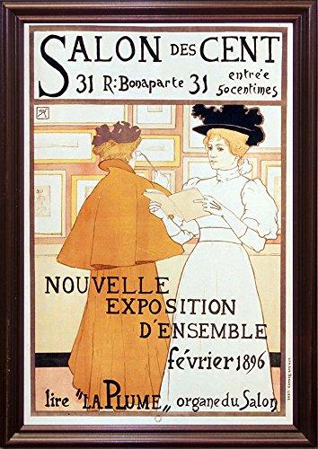 Salon Des Cent Nouvelle Exposition-VINAPP130094 Framed Print 20