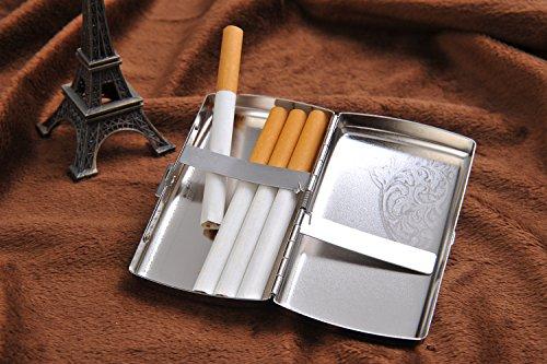 Qualité Étui Les Dans Veines Fines Con Coins Pour 792 Fait Élégantes Cigarettes Haute Et En Acier 01 À Losanges 12 Inoxydable Cigarettes De rwnavqrAx8