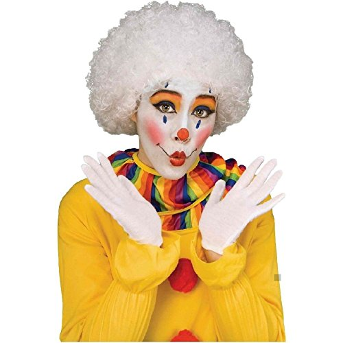 Fancy Dress Afro Wigs (Bright Color Afro Wig Circus Clown Costume Accessory Adult Halloween Fancy Dress)