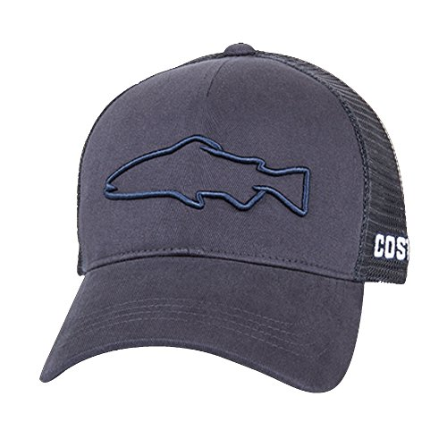 - Costa Del Mar Costa Stealth Trout Hat Navy