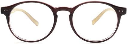 Mens Retro Classic Oval Eyewear Frames Eyeglasses Korean Drama Fashion Designer Amazon Co Uk Clothing