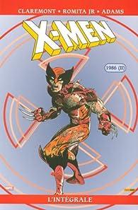 X-Men - Intégrale 14 : 1986-2 par Chris Claremont