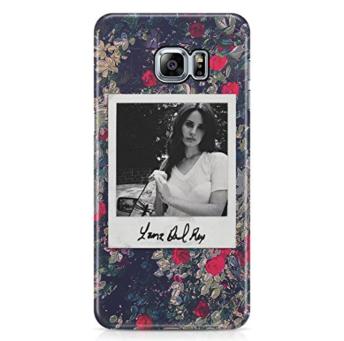 Lana Del Rey Polaroid Ultraviolence Floral Roses Tumblr Samsung Galaxy S6 EDGE PLUS Hard Plastic Phone Case Cover