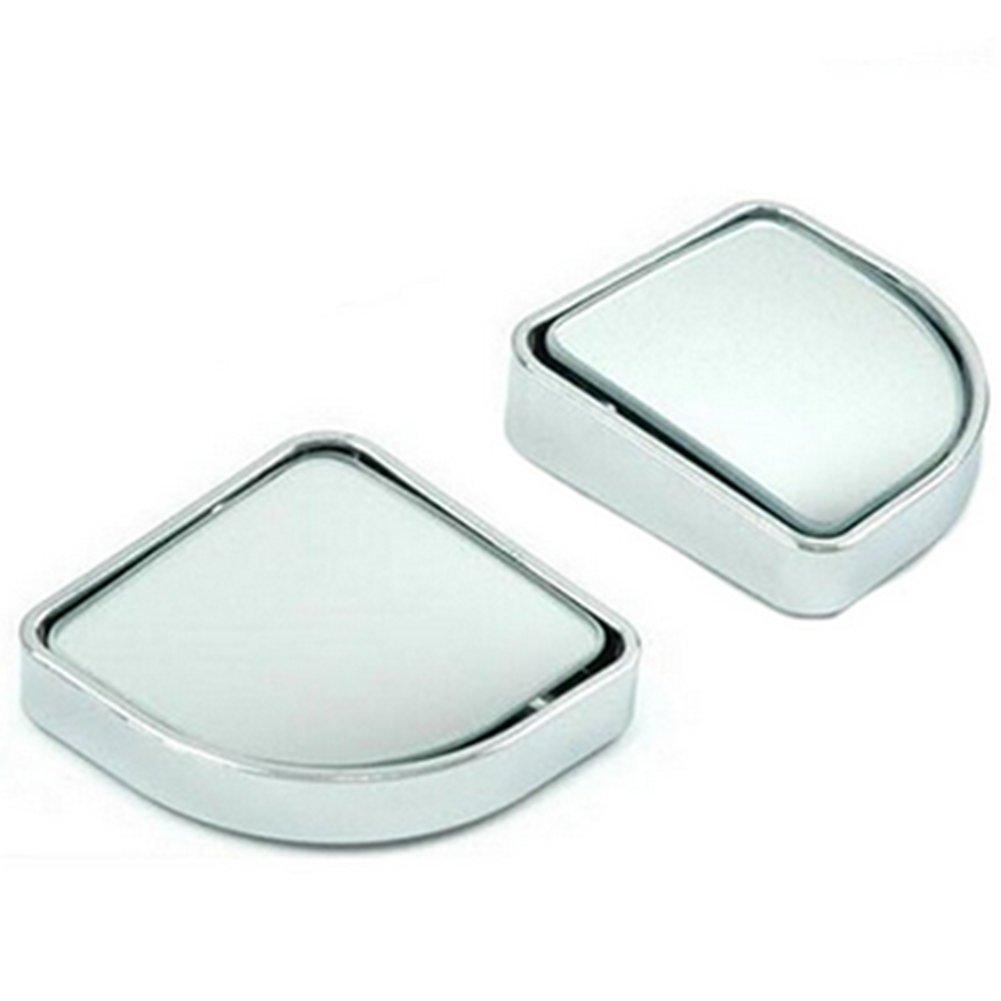 Leisial Espejo Ciego Blind Spot Mirrors Adjustable Coche Peque/ño Espejo Rredondo para Seguridad Coche Ajustable,Negro 1 Par