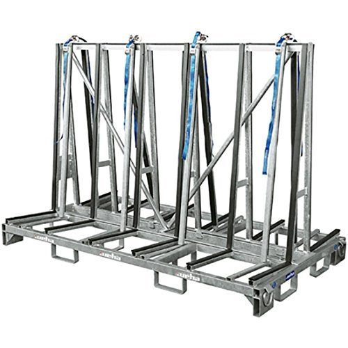 Weha Double Sided A-Frame Transport Cart Large - 8 Foot