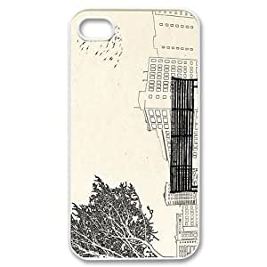 Custom Your Own Personalised 500 Days of Summer Bench Angel Knolls Park iPhone 4/4S Best Durable Case Cover
