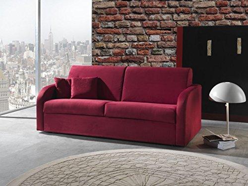 Artigiani in citt divano letto mod jack varie misure rivestimento tessuto o pelle - Divano pelle o tessuto ...