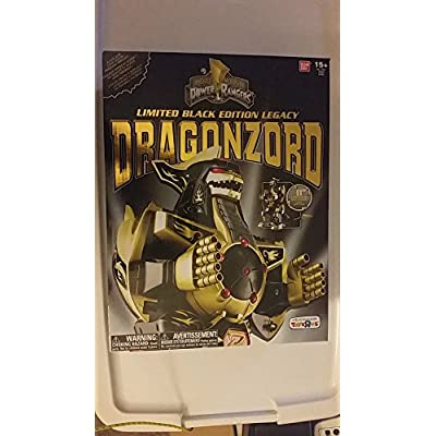 Power Rangers Limited Black Edition Legacy Dragonzord TRU Exclusive: Toys & Games