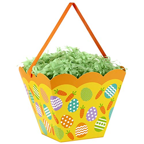 Hallmark Collapsible Easter Basket Gift Bag with Grass Fill