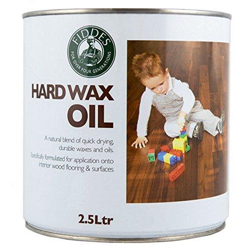 Fiddes Hard Wax Oil - Variety Sizes & Colors (2.5LT Hard Wax Oil) (Walnut) by Fiddes (Image #1)