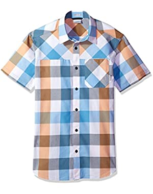 Men's Thompson Hill Yarn Dye Short Sleeve Shirt