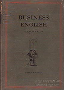 Hardcover Business English, Book