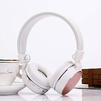 SH-16 Diadema plegable Auriculares estéreo Bluetooth, Soporte de audio de 3.5 mm y