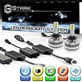Stark 90W 9000LM LED Headlight Conversion Kit - Cool White 6000K 6K - High Beam - 9005 / HB3