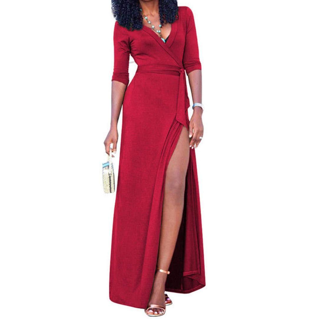 Vestidos rojos para gorditas de noche