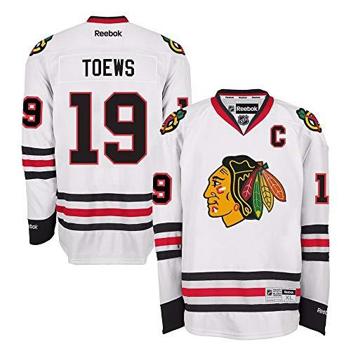 Reebok Jonathan Toews Chicago Blackhawks Official Road White Premier Jersey (White Premier Jerseys)