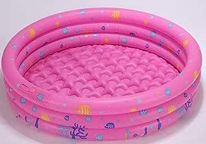 Swim Center Family Lounge Piscina Infantil Inflable Redonda, para niños, Adultos, Familiares, Patio Trasero, Interior y Exterior con Tela 125 * 38 con Bomba eléctrica: Amazon.es: Jardín