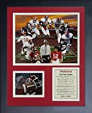 Legends Never Die Alabama Crimson Tide Greats Collage, 11-Inch by 14-Inch Framed Photo Collage, 11 by 14-Inch