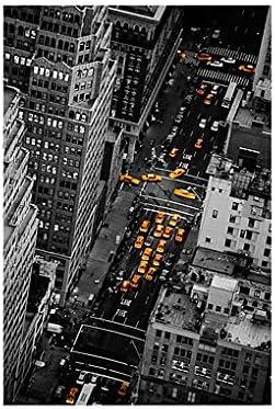 Mural de ventana Taxi Lights Manhattan, Dimensione:216cm x 144cm: Amazon.es: Hogar
