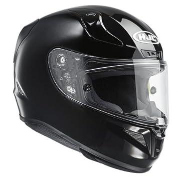 HJC 13203007 Casco de Moto, Negro Metal, Talla S