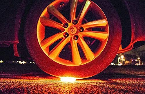 MTB SUPPLY Roadside LED Flares Emergency Warning Light 6 Pack Flashing Warning Light for car and Truck
