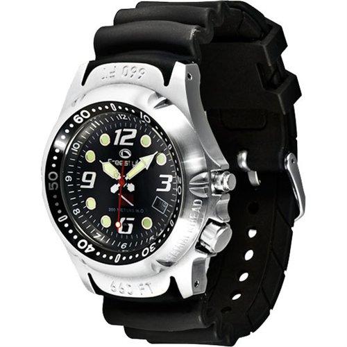 Freestyle Men's 101947 Hammer Hear Analog Display Japanese Quartz Black Watch