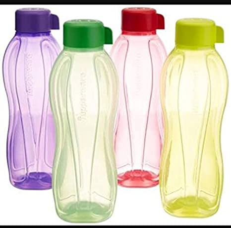 310b08ab34b Image Unavailable. Image not available for. Colour  Tupperware Plastic  Water Bottle Set