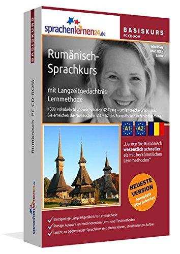 Sprachenlernen24.de Rumänisch-Basis-Sprachkurs: PC CD-ROM für Windows/Linux/Mac OS X. Rumänisch lernen für Anfänger.