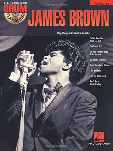 James Brown: Drum Play-Along Volume 33 (Hal Leonard Drum Play-Along)