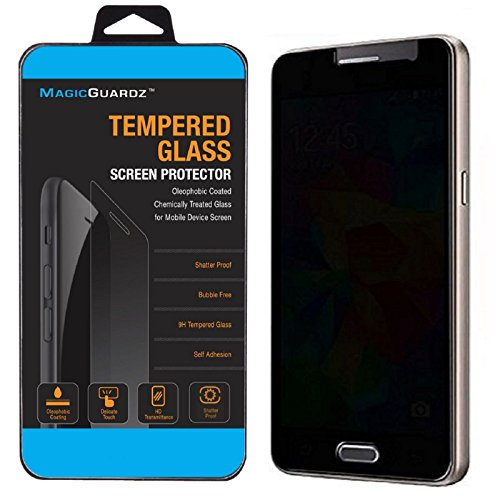 MagicGuardz®, Made for Samsung Galaxy S7 (NOT for Edge), Privacy Anti-Spy Tempered Glass Screen Protector Shield, Retail Box (Best Privacy Screen Protector For Galaxy S7)