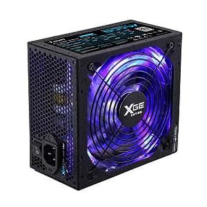 Tooq TQXGE-800SAP - Fuente de alimentación (800 W, 12 V, ATX), negro