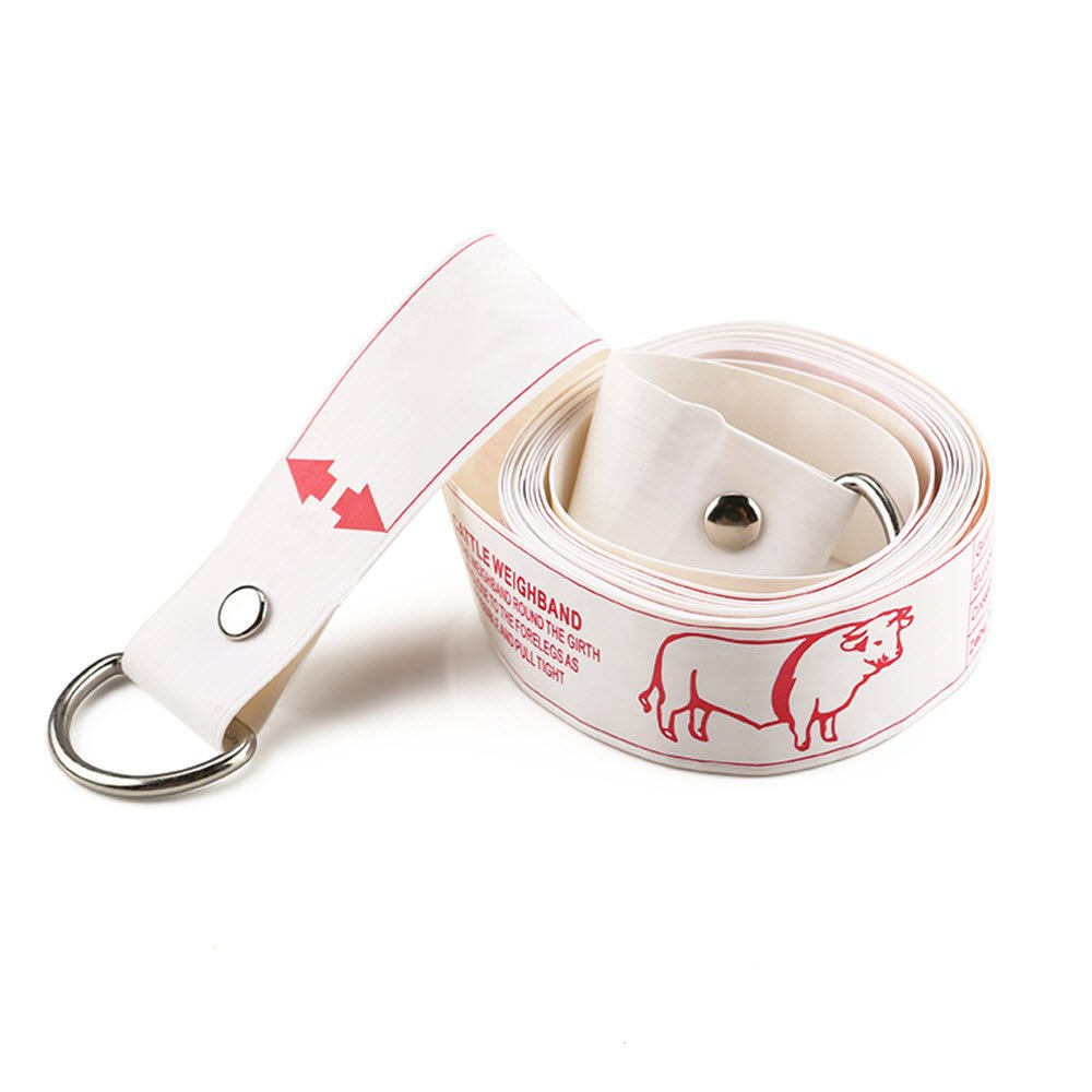 WIN TAPE Professional Cattle Weight (KG) & Height (CM) Tape Measure