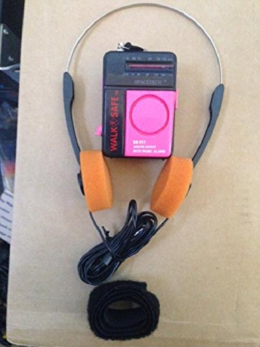 Guardians Of The Galaxy Style Walkman AM FM Radio w/ Orange Headphones - Working Prop Halloween 2014! - - Costume Walkman