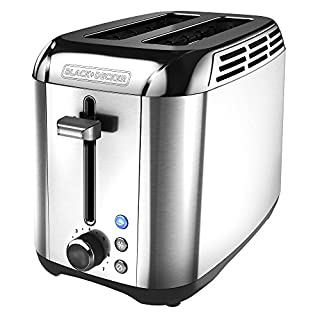 BLACK+DECKER Toaster with Rapid Toast Techology, 2 Slice, Stainless Steel, TR3500SD (B00LU2HVAO) | Amazon Products