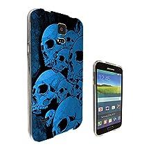 002611 - Sugar Skull Dead Zombie Skull Scary Design Samsung Galaxy S5 / Galaxy S5 Neo Fashion Trend CASE Gel Rubber Silicone All Edges Protection Case Cover